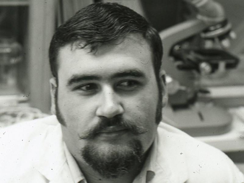 Vintage photo of Larry Kerwin