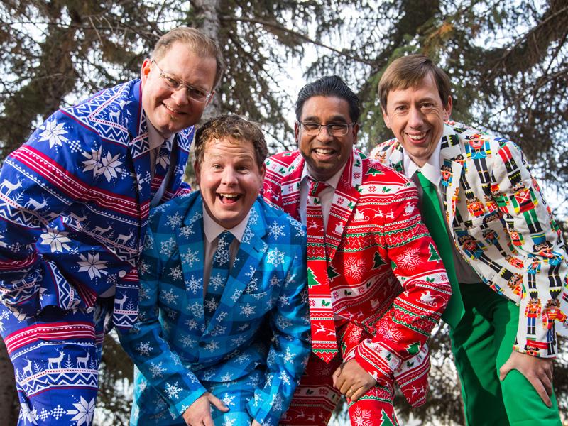 The Heebee-jeebees present Wrapping Up Christmas 2017