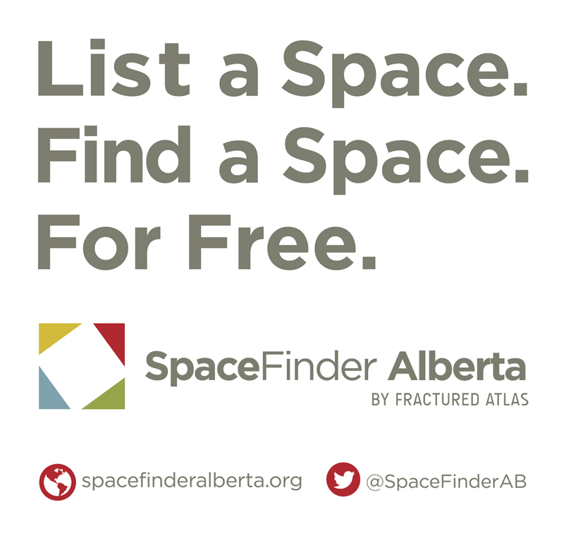 Go to SpaceFinder Alberta.