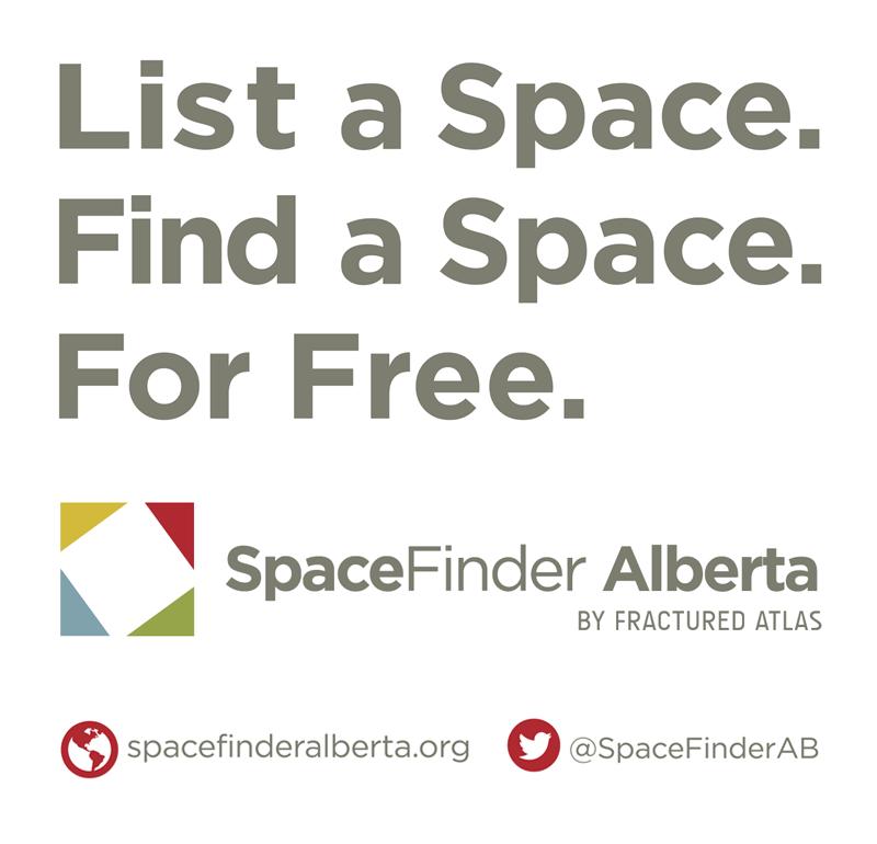 Go to SpaceFinder Alberta.