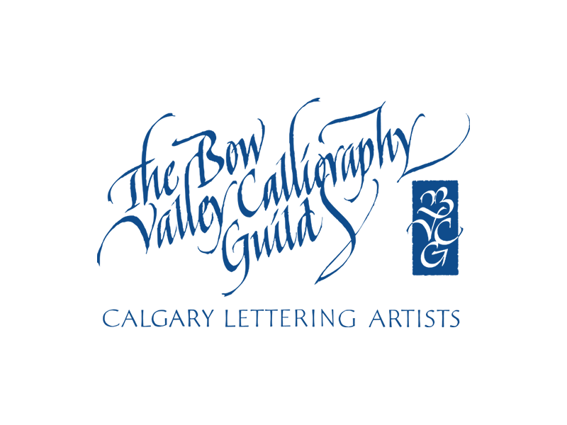 Image logo - Bow Valley Caligraphy Guild
