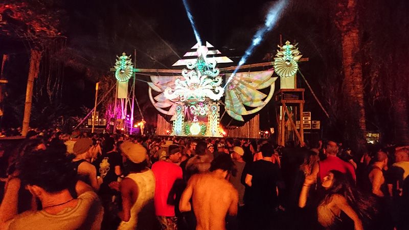 Jay MacGillivray at Envision Festival in Costa Rica