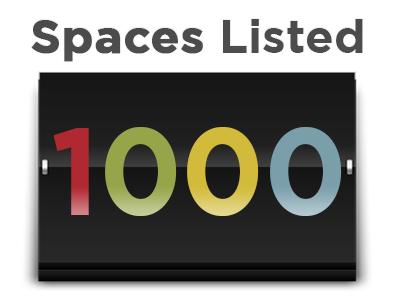SpaceFinder Counter 1000