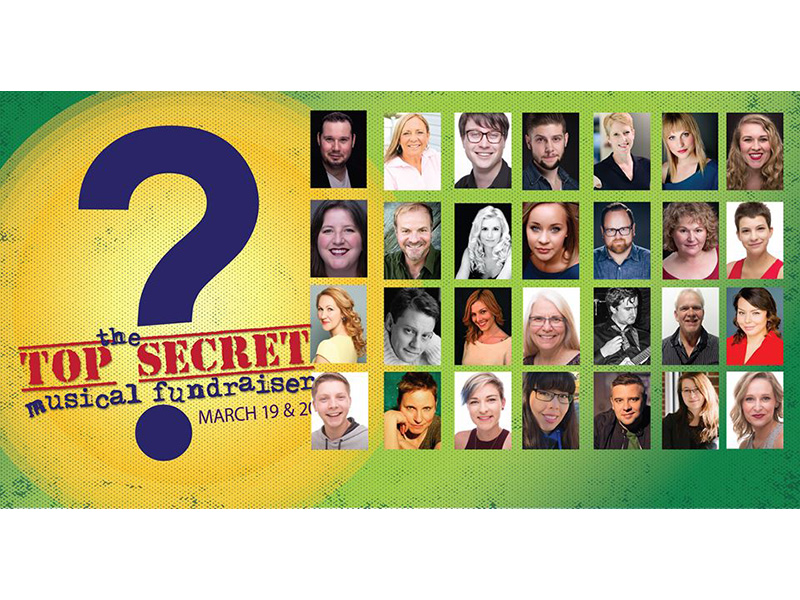 Top Secret Musical 2018 Poster