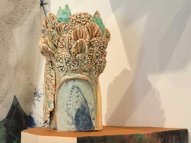 Elizabeth D'Agostino's installation, Makeshift Tale