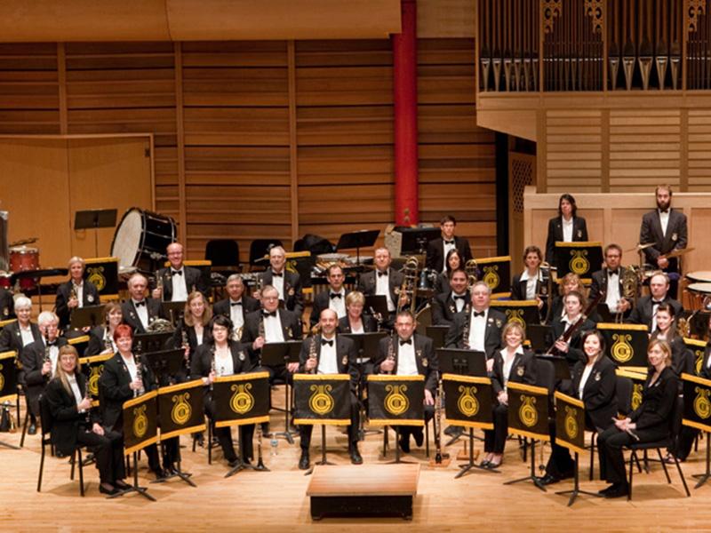 Photo of the Calgary Wind Symphony