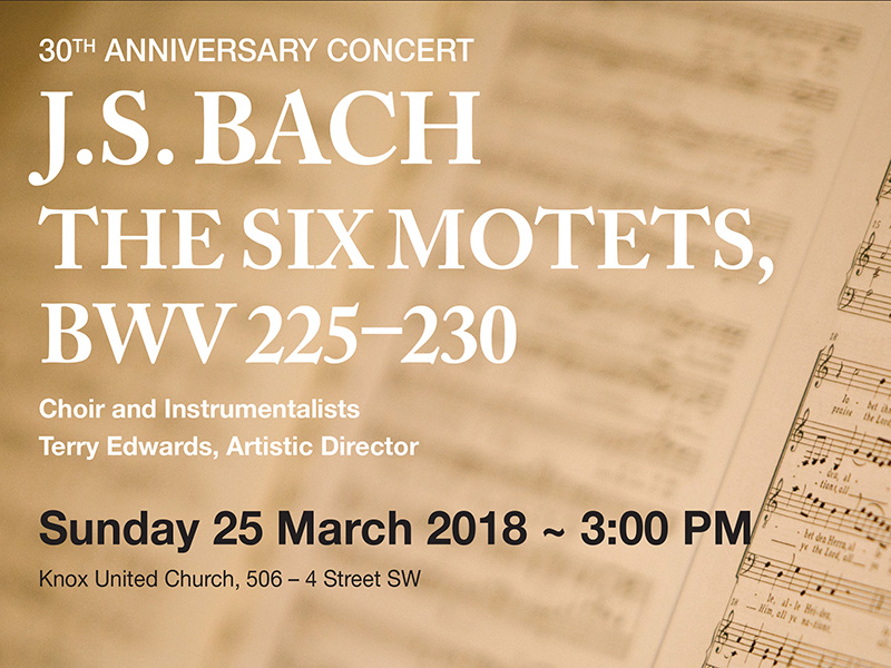 Win Tickets to The Six Motets