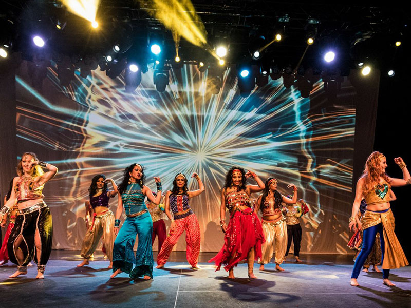 Dancers perform in One – A Dance Spectacle