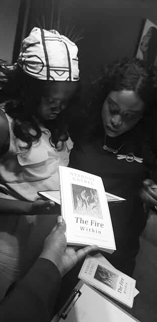 Nyabuoy Gatbel at her recent book signing in Melbourne, Australia