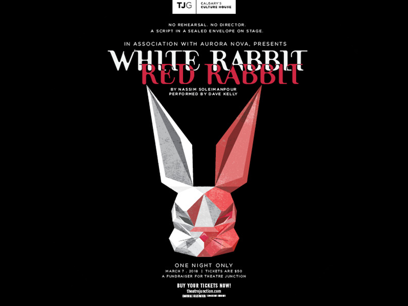 White Rabbit Red Rabbit at Theatre Junction GRAND