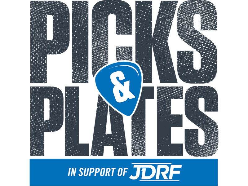 Logo for the Picks & Plates Gala