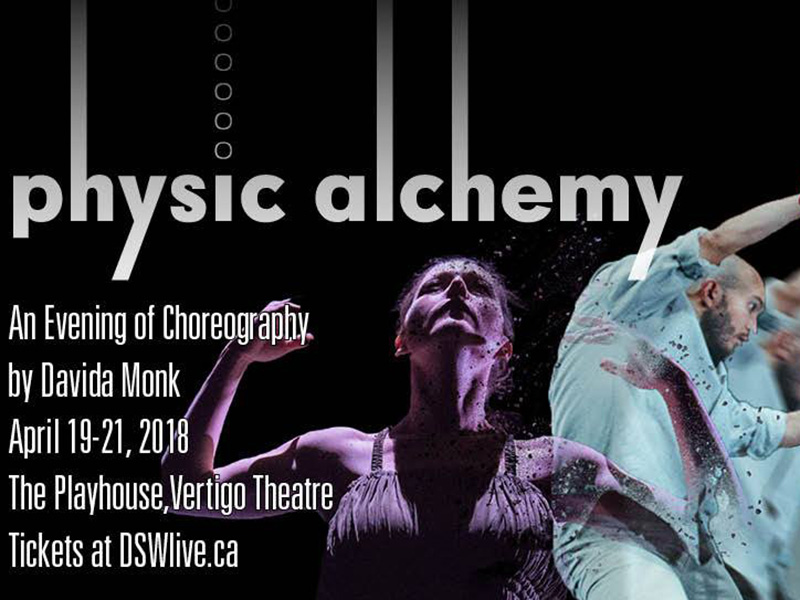 Poster for Dancers' Studio West's Physic/Alchemy
