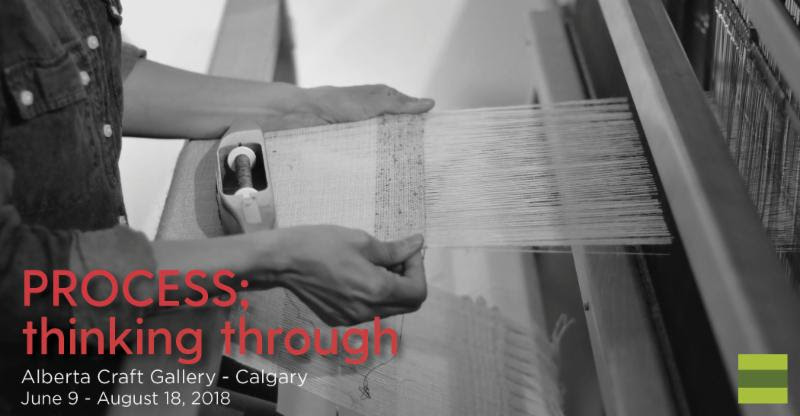 Poster for PROCESS; thinking through Artist Reception