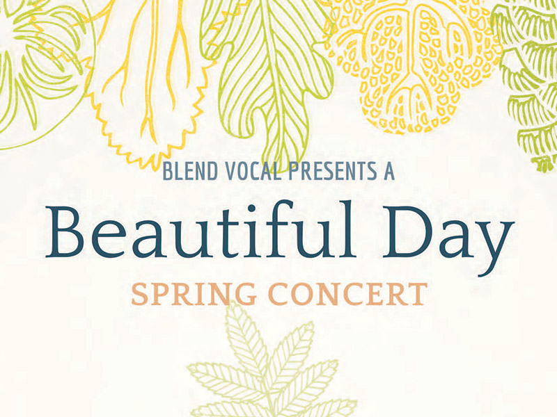 Posterf for Blend Vocal Presents It's a Beautiful Day