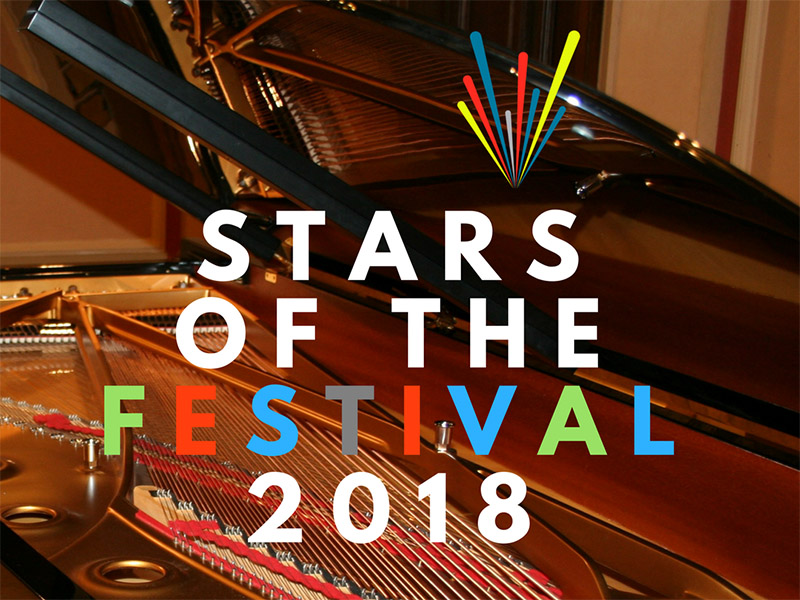 Poster for Calgary Performing Arts Festival's Stars of the Festival