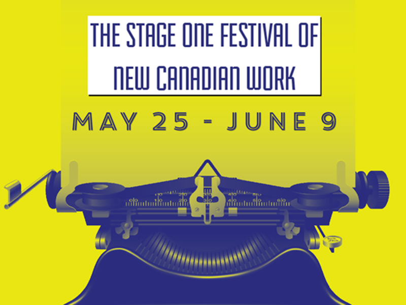 Poster for The Suncor Stage One Festival of New Work