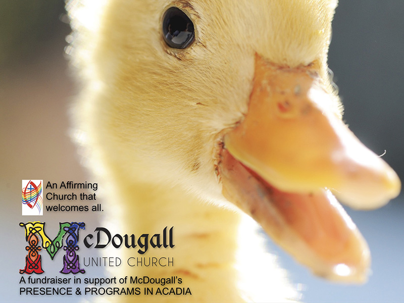 Poster by McDougall United Church's Honk! A Musical Tale of The Ugly Duckling