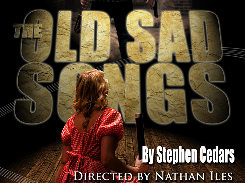 Poster for Scorpio Theatre's The Old Sad Songs