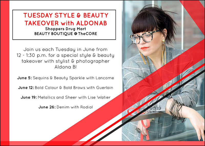 Poster for Tuesday Style & Beauty Takeover with Aldona B