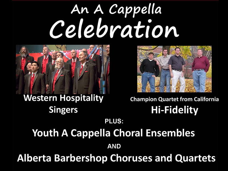Poster for An A Cappella Celebration