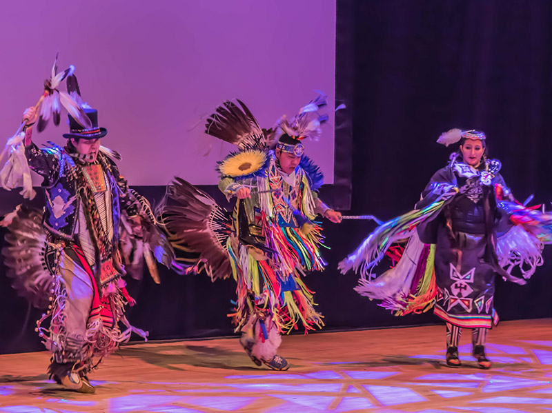 Thundering Nations International performs in Our Story, Our Canad