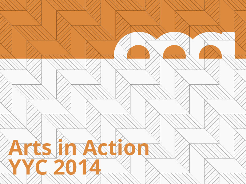 Arts in Action YYC 2014 graphic
