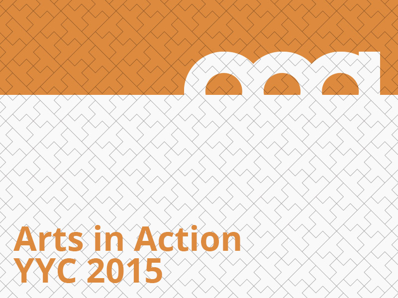 Arts in Action YYC 2015 graphic