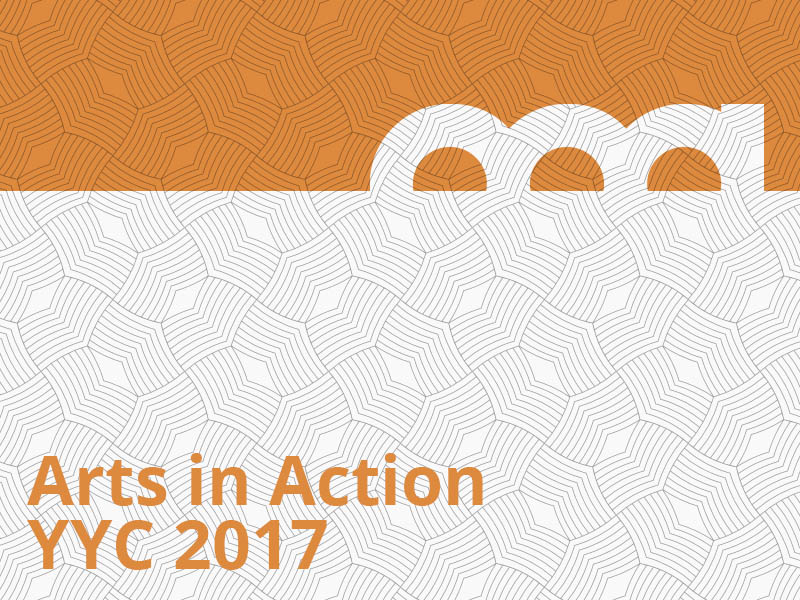 Arts in Action YYC 2017 graphic