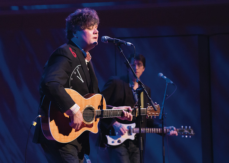 Ron Sexsmith performs at the Bella Concert Hall