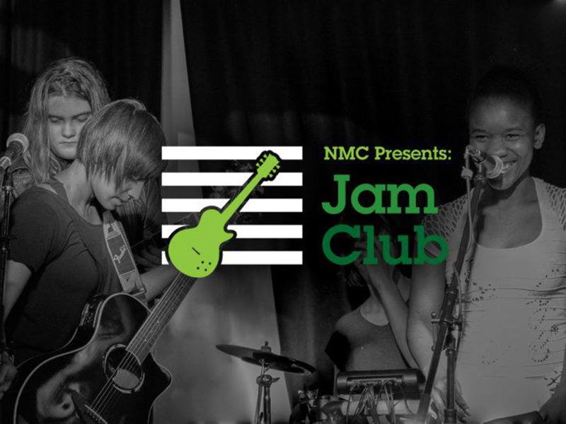Poster for NMC Jam Club Gig Day