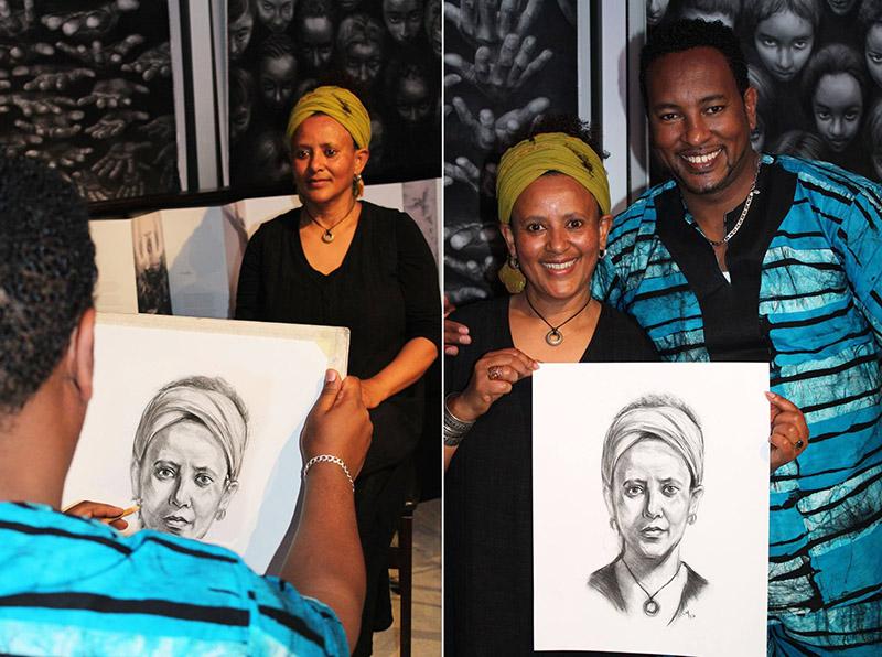 Sisay Shimeles' Artist in Residency