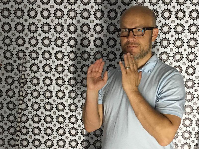 Photo of animator Cam Christiansen