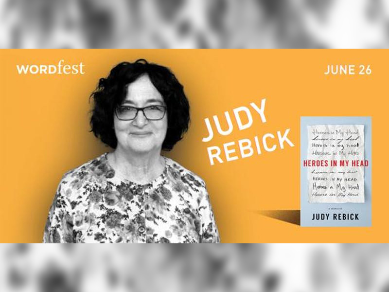 Poster for Wordfest presents Judy Rebick