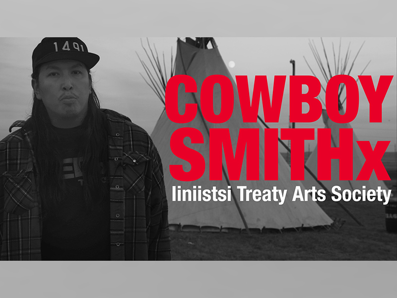 A video still from a short film about Cowboy Smithx