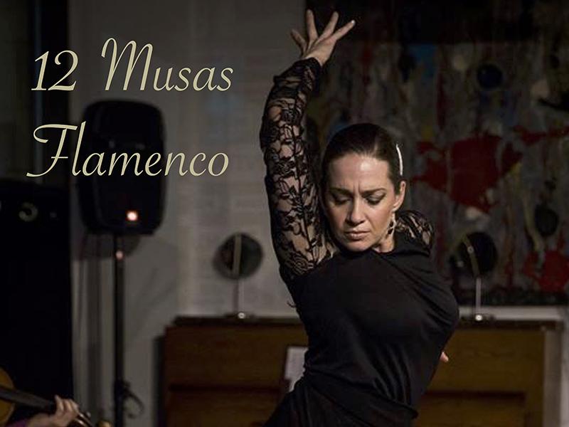 Poster for 12 Musas Flamenco Ensemble at Koi