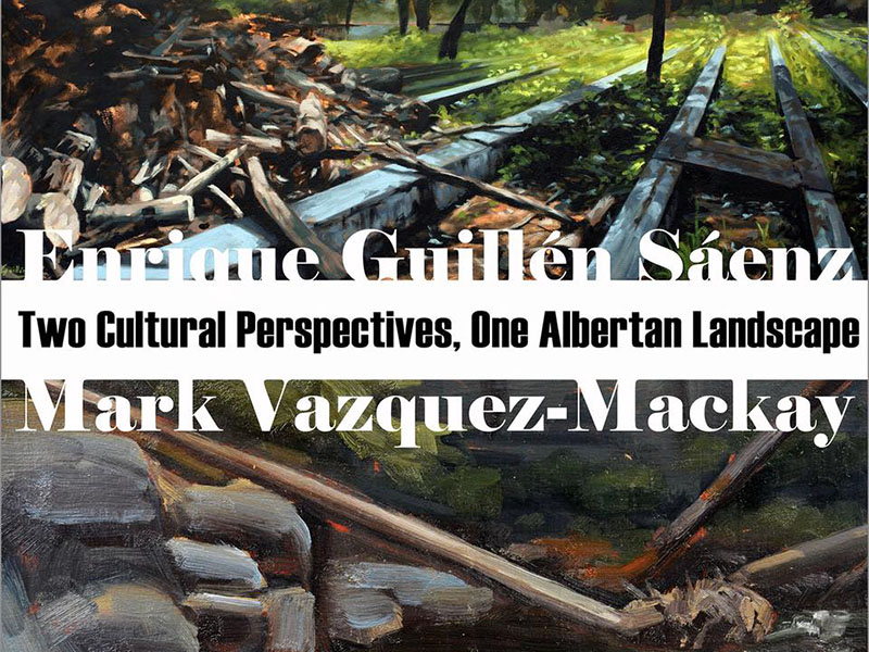 Poster for Two Cultural Perspectives, One Albertan Landscape