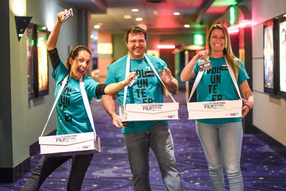 Image - Calgary International Film Festival volunteers