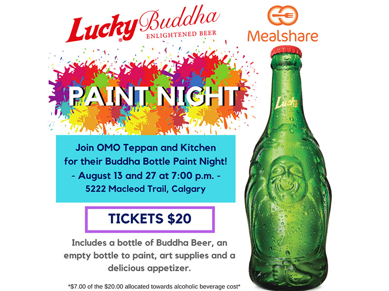 Poster for Buddha Bottle Paint Night