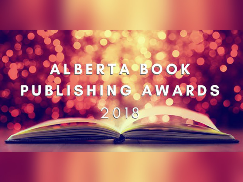 Poster for the 2018 Alberta Book Publishing Awards