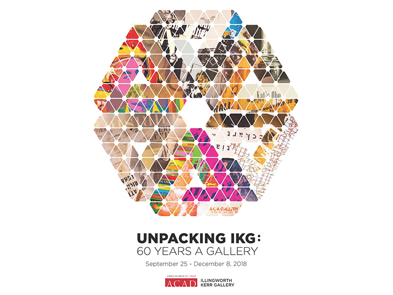 Poster for Unpacking IKG: 60 Years a Gallery