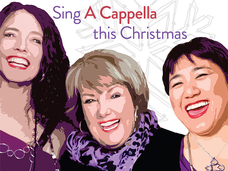 Poster for Rhythm of the Rockies' #AcappellaXmas