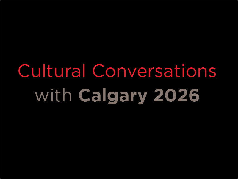 Image word mark - Cultural Conversations with Calgary 2026