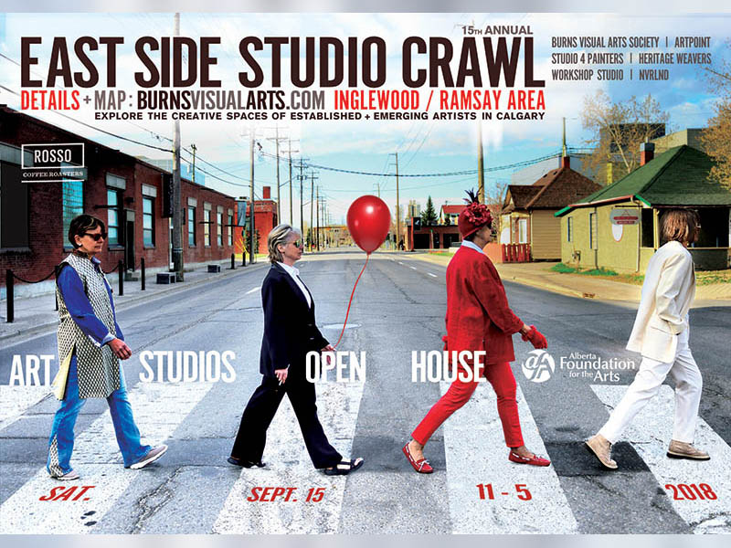 Postcard for the East Side Studio Crawl