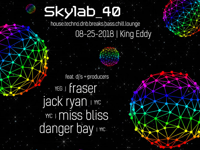 Poster for Skylab_40 Presents at the King Eddy