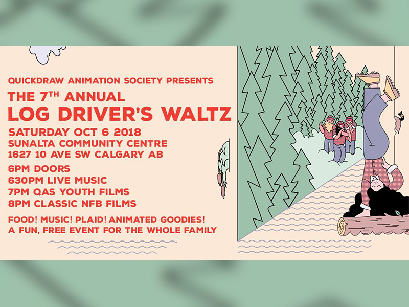 Poster for the 7th Annual Log Driver's Waltz