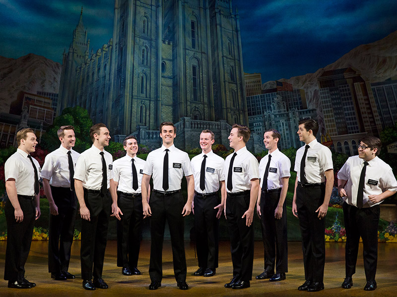 Promotion photo from The Book of Mormon