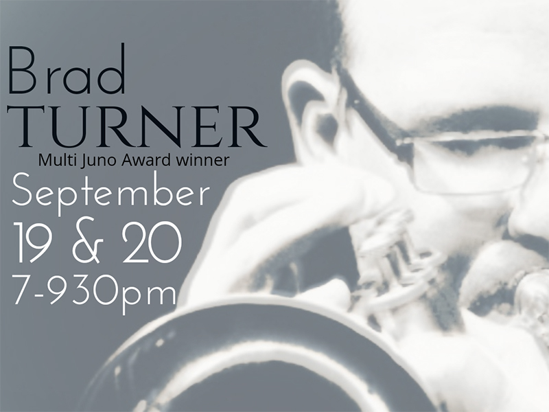 Poster for The Redline Trio with Brad Turner