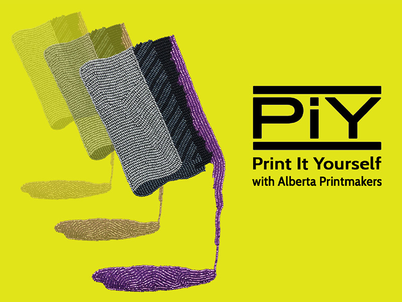 Poster for the Print It Yourself Festival