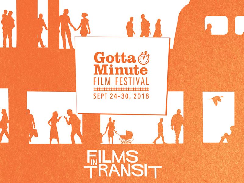 Poster for the 2018 Gotta Minute Film Festival