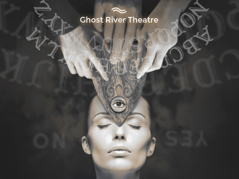 Poster for Ghost River Theatre's The Intuition Project